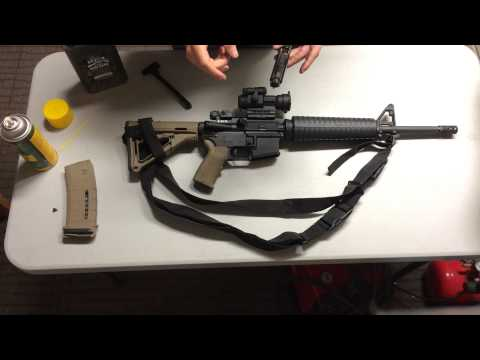 How to: Properly lube an AR15