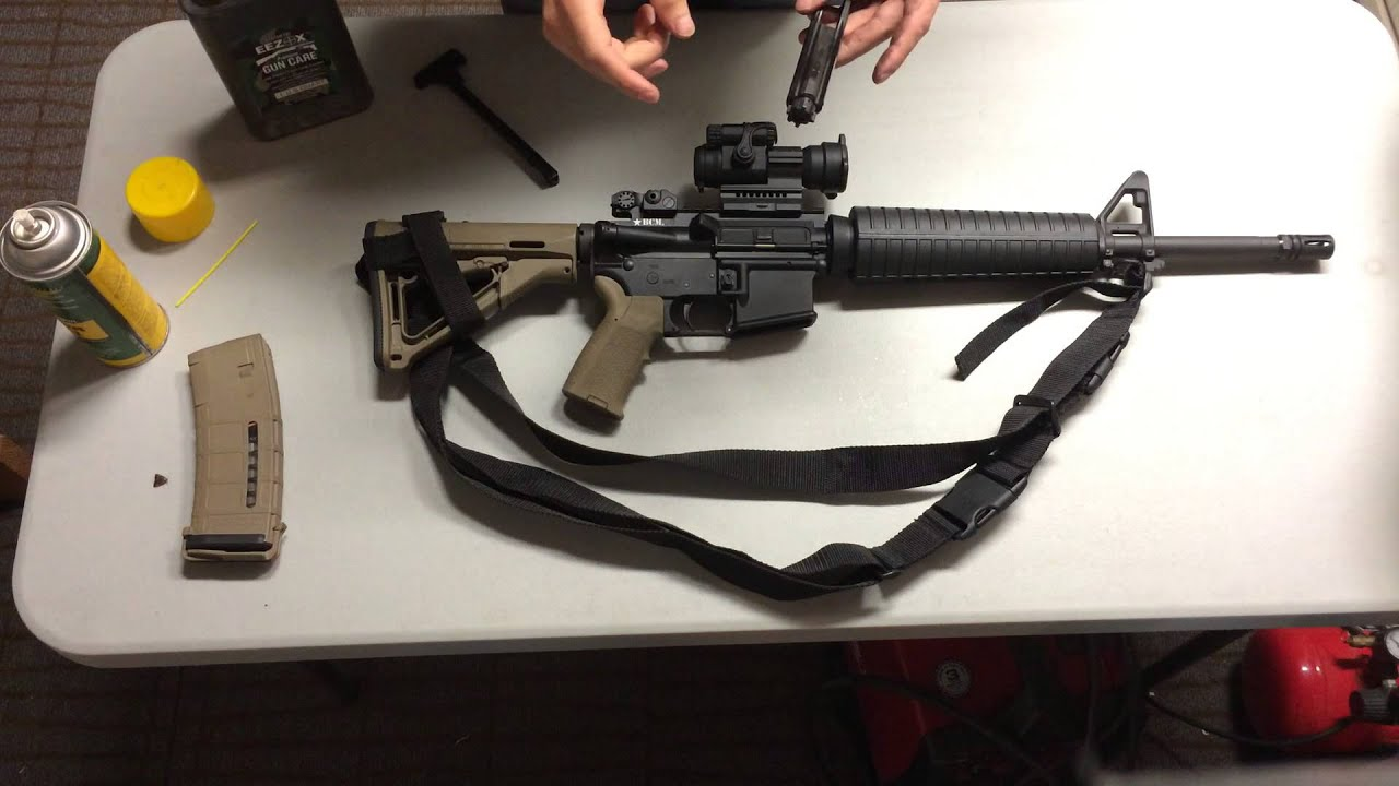 How To Properly Lube An Ar15