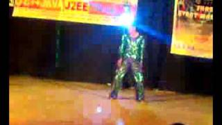 Repeat youtube video Western solo dance by vismay raval jamnagar m p shah medical college
