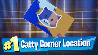 Enter Catty Corner Vault Location - Fortnite Battle Royale