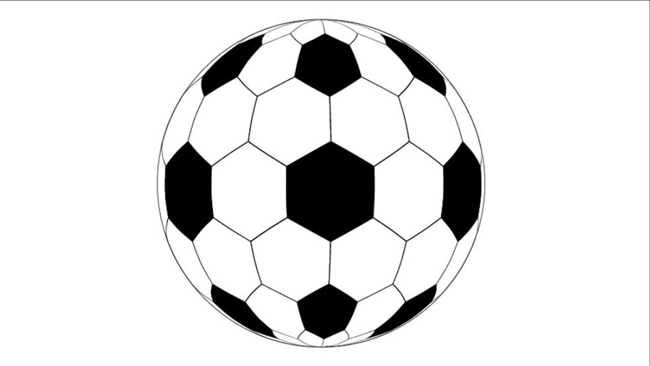 How to Draw a Soccer Ball in Adobe Illustrator - YouTube