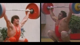 1980 Olympic Weightlifting (Rigert and Alexeev).