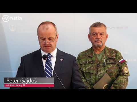 Minister Gajdoš o aktívnych zálohách v armáde