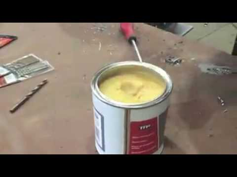 How to drill HARDOX 450 the easy way