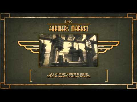 Bioshock Gameplay Walkthrough Part 17 - FARMERS MARKET - Hard / Brass Balls (Xbox 360/PS3/PC)