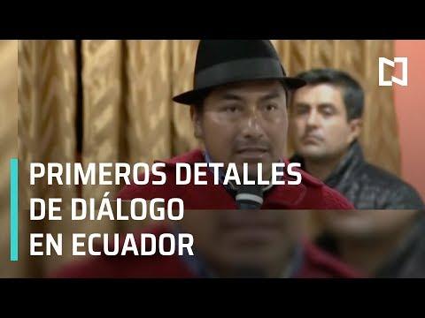 Ecuador: Detalles del diálogo entre el presidente Lenín Moreno e indígenas - Las Noticias