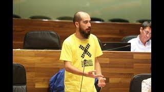Héctor Piernavieja pregunta sobre la situación actual del Convenio del Plan de Vías de Xixón