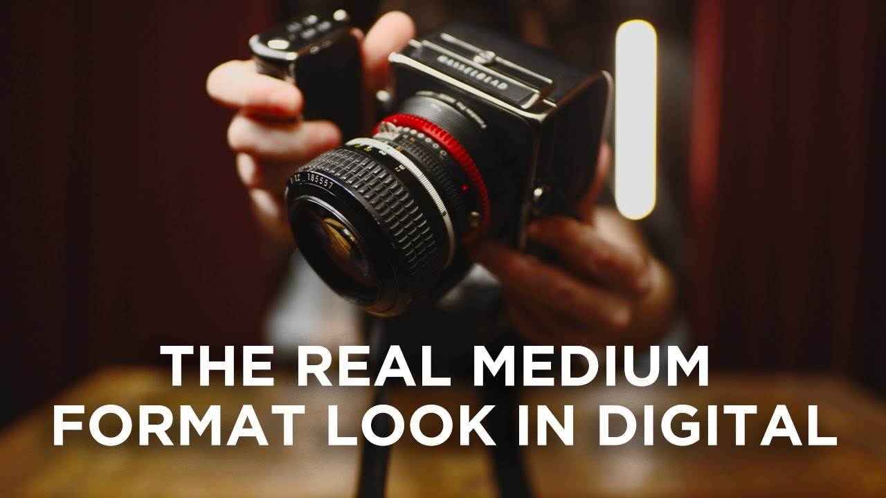 Digital Hasselblad + Nikon 58mm f/1.2 for a true medium format look