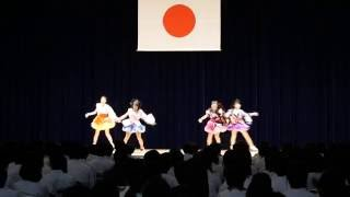 野田学園祭(青桐祭)ダンス部発表4年 2016/6/19