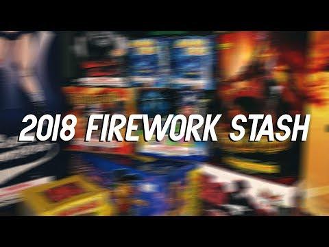 2018 Firework Stash