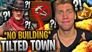 TILTED TOWN bannlyser BYGGING på FORTNITE ⚒️💥 **NULL BYGGING på NYE TILTED TOWERS**