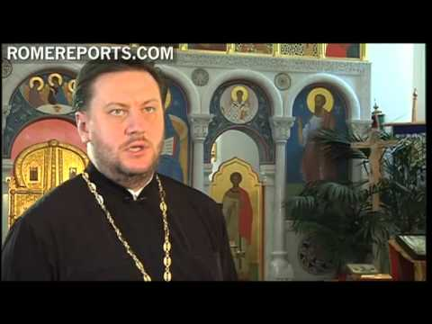 The Russian Orthodox parish in Rome, a common look to the current problems