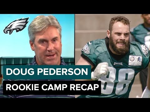 Head Coach Doug Pederson's Rookie Camp Recap & Plan for Building Team Chemistry | Eagles One-On-One