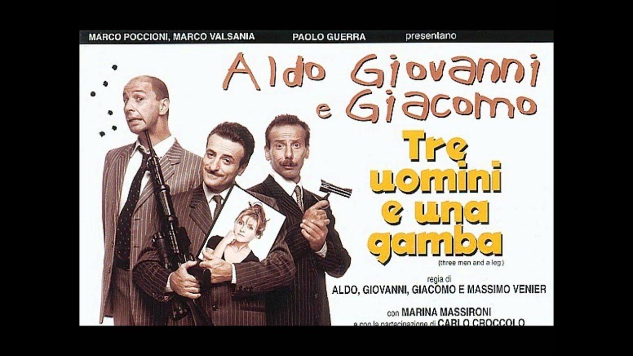 Chiara S Theme Hai Mai Rischiato Tre Uomini Ed Una Gamba Three Men And A Leg Youtube