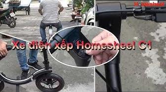 Giới thiệu xe điện xếp gọn Homesheel C1