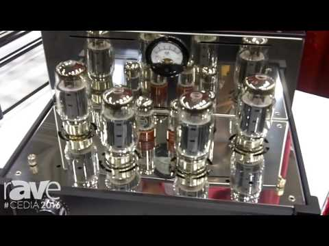 CEDIA 2016: Carver Unveils Hand-Built, Two-Channel Tube Amplifier