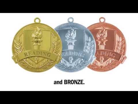 Shining Achievements Medals from Jones School Supply