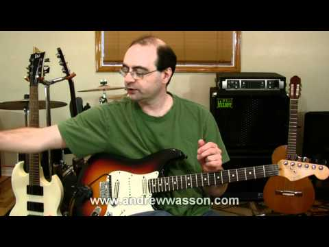 Finger Picking, Using Scales, Mode/Positions, Nat. Minor, Studying Music