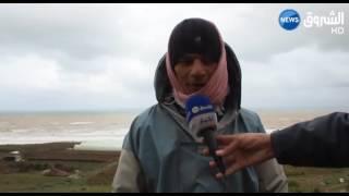 الشلف: تجدد الإعصار المائي يحير سكان المرسى