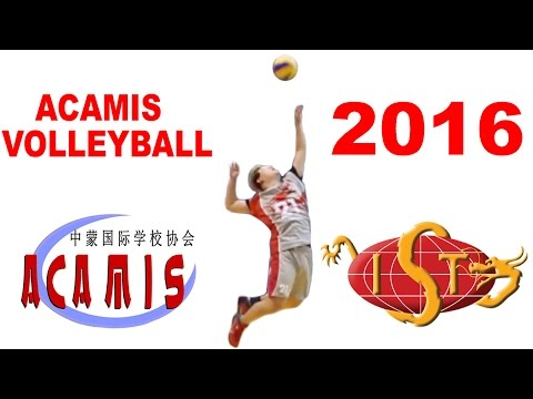2016 ACAMIS Volleyball at the International School of Tianjin