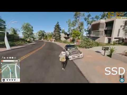 Watch Dogs 2 - HDD Vs SSD (Stuttering Fix)