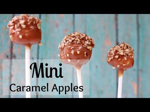 How To Make Mini Caramel Apples Kids Love These Youtube
