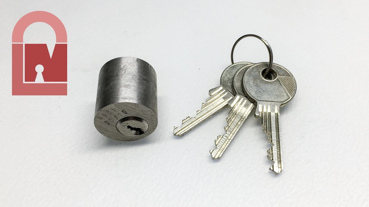 (418) Tiny Little Mortice Cam Lock Picked
