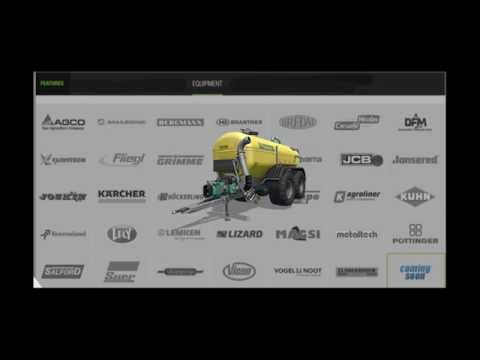 New Farming Simulator 2017 equipment
