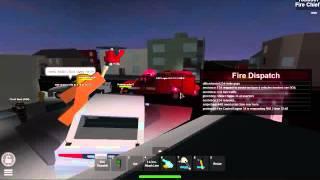 Hommage aux pompiers de Roblox