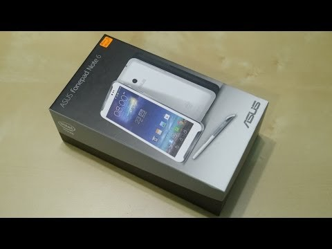 ASUS Fonepad Note 6 Unboxing + First Look