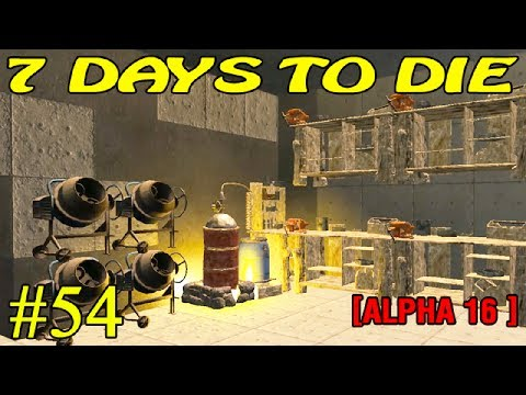 7 Days to Die Alpha 16 ► Стройка ► №54 (16+)