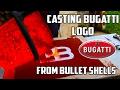 watch he video of Making 'Gold' Bugatti Logo