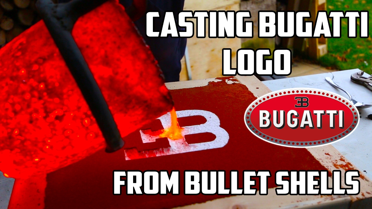 Making 'Gold' Bugatti Logo
