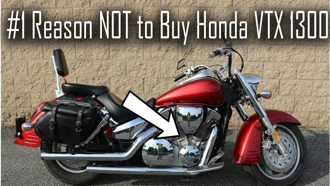 Why NOT to Buy a Honda VTX 1300 - YouTube