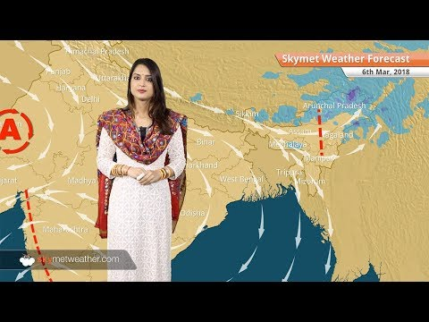 Weather Forecast Mar 6: Rain in Arunachal, Nagaland; hot weather in Andhra