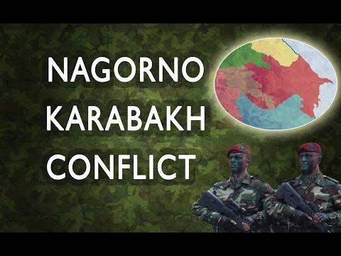 Nagorno Karabakh Conflict (Map description)
