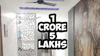 How does 1.05 crores looks in Delhi?