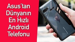 Asus'un çılgın oyun telefonunu kullandık l ROG Phone