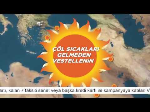 Vestel Klima    Reklam Filmi  5 Yıl Ücretsiz Garanti