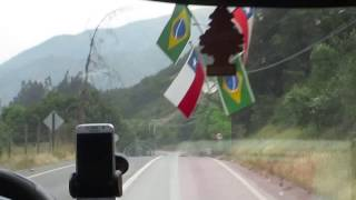 Baixar Traveling on Camino Al Volcán towards Santiago in Chile - October 11, 2016