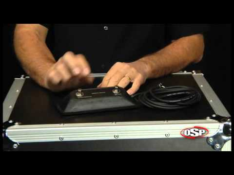 OSP 2 on Stereo Footswitch Select/Effects - YouTube Foot Switch Wiring Diagram Peavey Special on