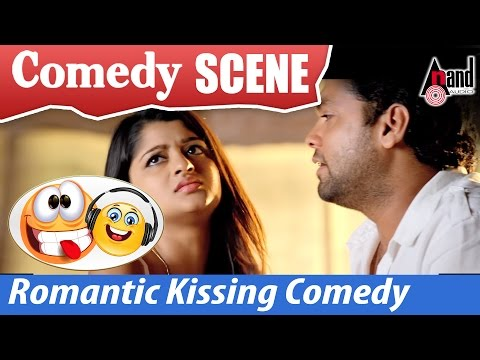 Vaastu Prakaara | Rakshit Shetty & Aishani Shetty – Romantic Kissing Comedy  Scenes