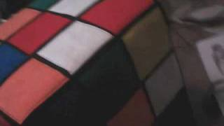 Rubik's Cube Chair/footstool