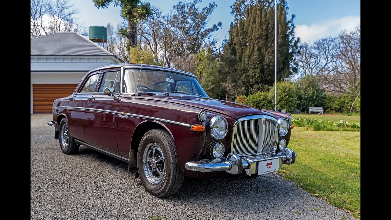 1973 Rover P5B 3500 Waimak Classic Cars New Zealand