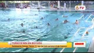 GSTV | Galatasaray Sutopu Takımı Türkiye Şampiyonu