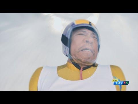松本人志、リュージュに挑戦も大絶叫 トレエン斎藤もうっすら出演 タウンワーク新CM「リュージュ」篇