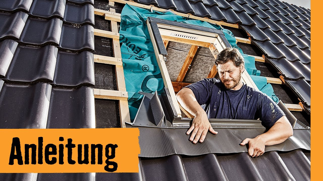 Sehr Dachfenster einbauen: mit Wechsel | HORNBACH Meisterschmiede - YouTube CX23
