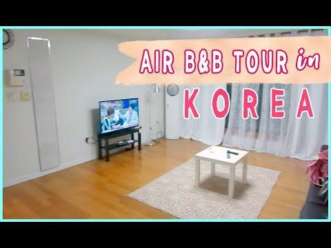 KOREAN AIRBNB TOUR, MEETING MEGAN BOWEN & FIRST DAY IN SEOUL 🛫