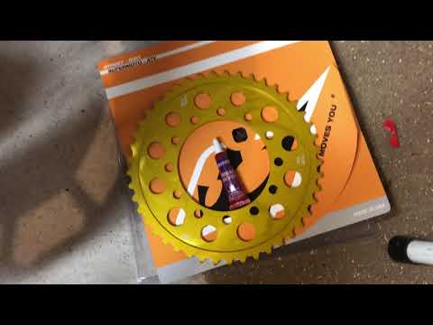 Let's Install: RK Chain + DRIVEN Sprockets on an FZ-09 (15,500miles)