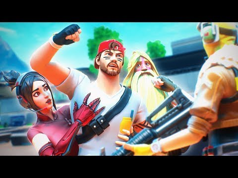 Nickmercs Wanted To FIGHT This Guy in Random Squads Fortnite Battle Royale